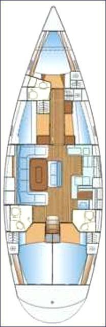 Bavaria Cruiser 50 (EC- 50C-13-CR) Plan image - 1