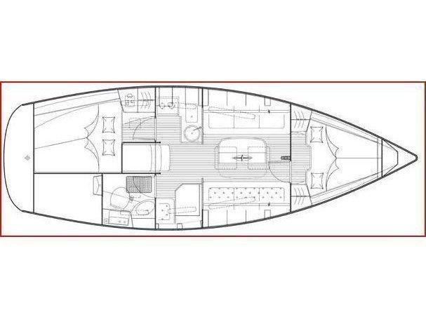 Bavaria 31 Cruiser (Tango) Plan image - 2