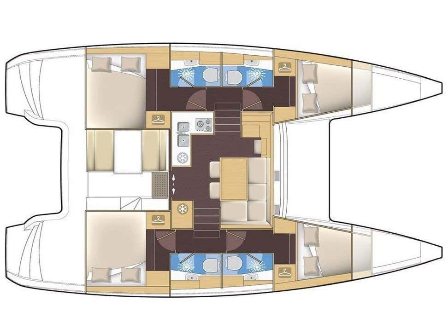 Lagoon 39 (L39-16-C) Plan image - 1