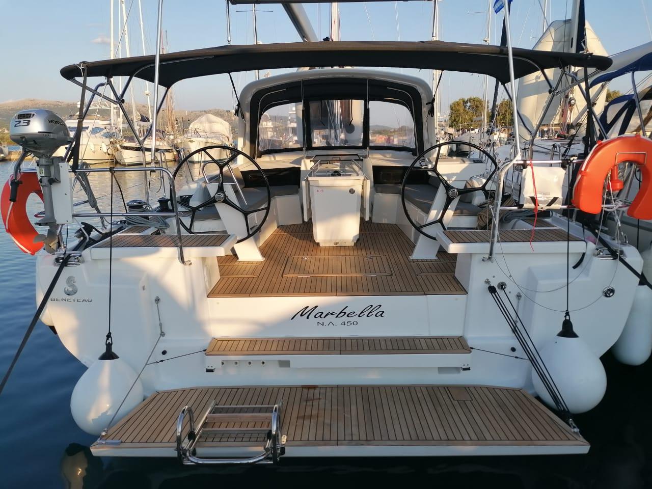 Oceanis 46.1 (Marbella ) Main image - 0