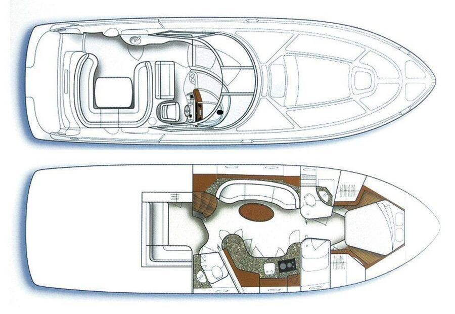 Sea Ray 455 (Gandalf) Plan image - 12