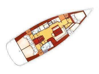 Oceanis 46 (Sifnos 46.1) Plan image - 1