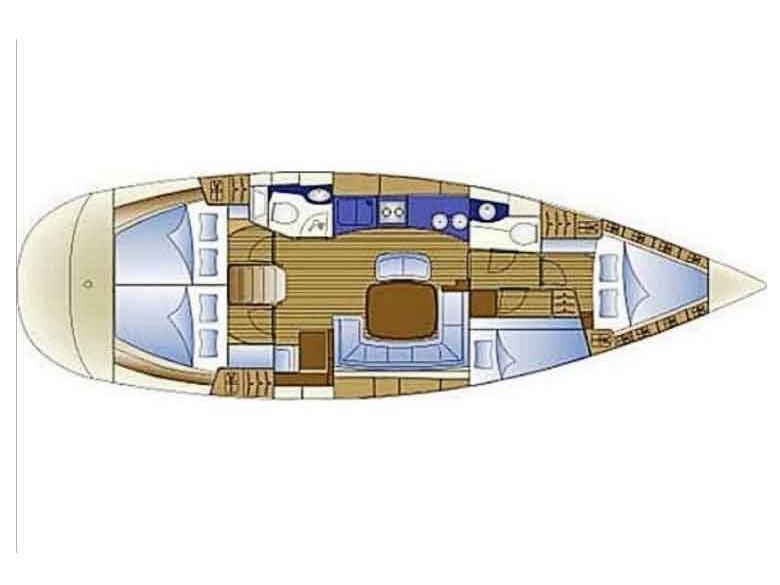 Bavaria 44 Cruiser (Sahbaz) Plan image - 15