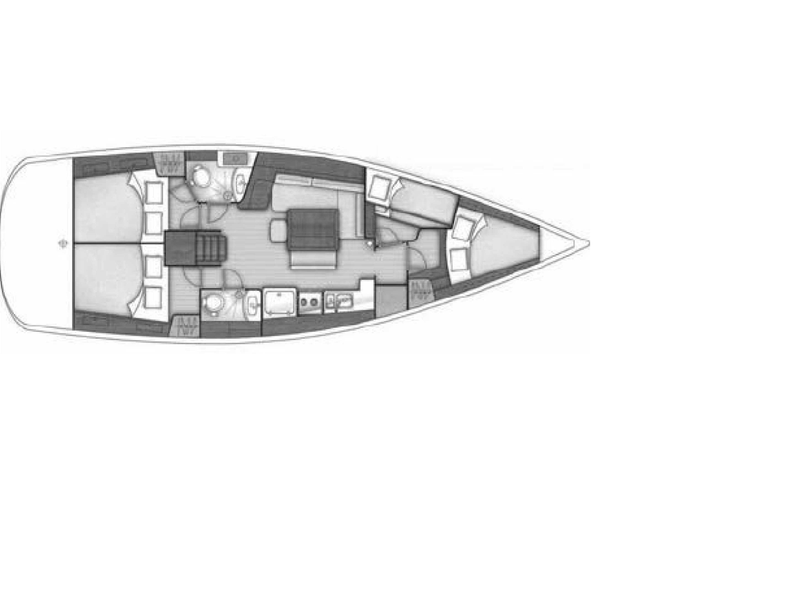 Oceanis 43.4 (Martha) Plan image - 2