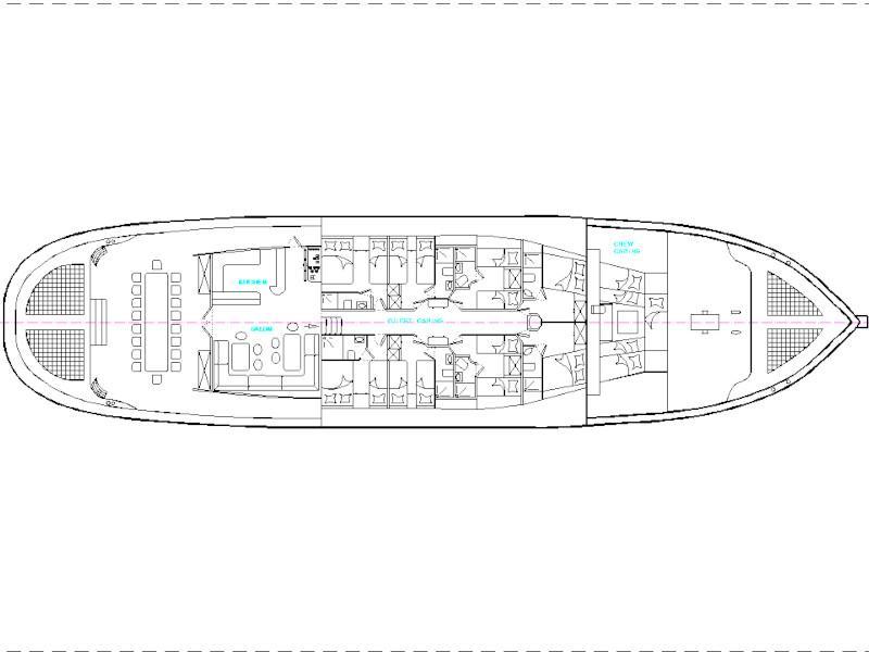 Gulet (Matina) Plan image - 6