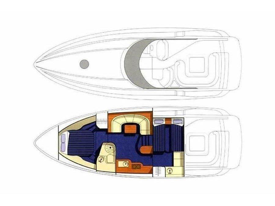 Sunseeker Portofino 40 (Maxim) Plan image - 14