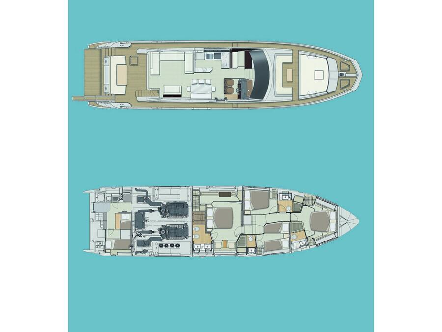Azimut 72 (Prewi II) Plan image - 16