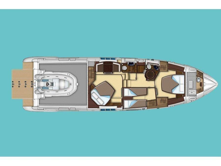 Azimut 55 S (Mini Too) Plan image - 6