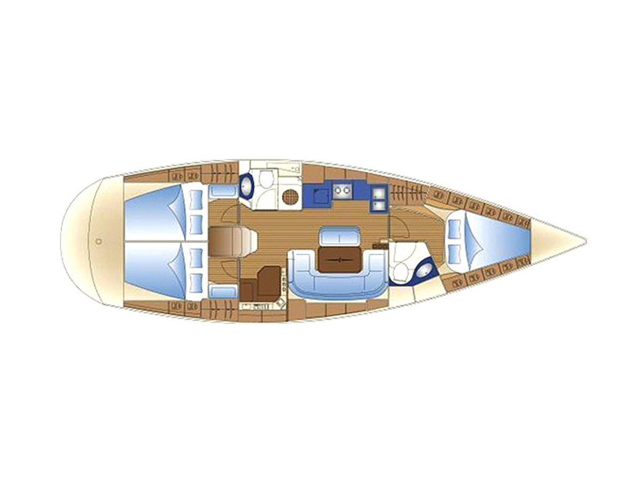 Bavaria 42 Cruiser (Serenity) Plan image - 10