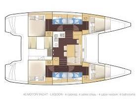 Lagoon 40 (Senza Meta) Plan image - 2