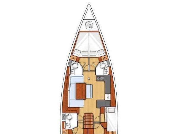 Oceanis 48 (Senza Fine) Plan image - 2