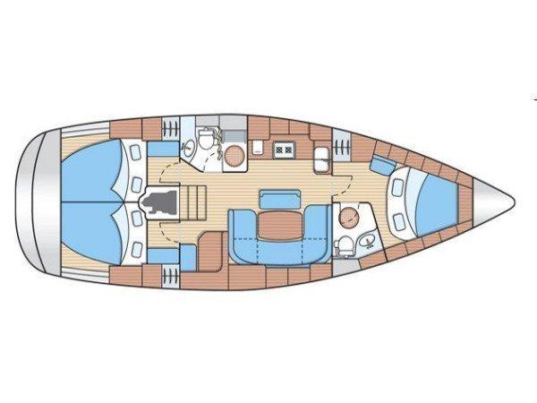 Bavaria 39 Cruiser (Rubycoon) Plan image - 2