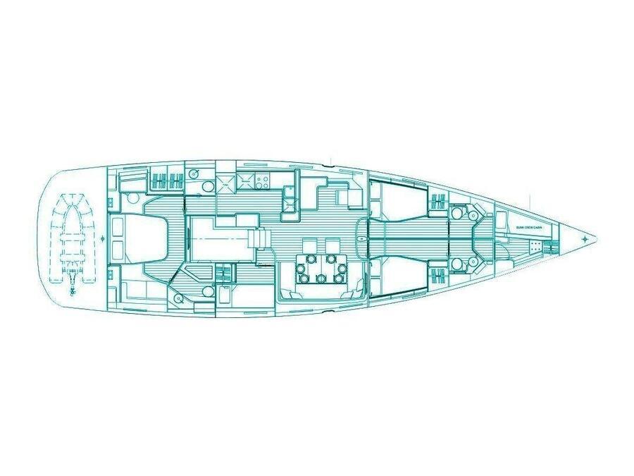 Jeanneau 64 (Aspro) Plan image - 2