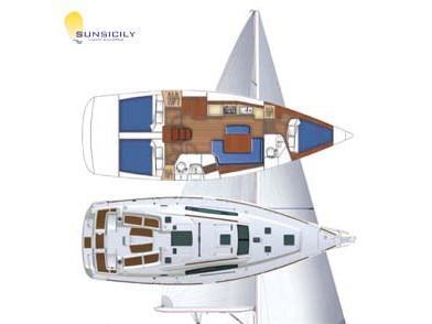 Oceanis 40 (Senza Parole II) Plan image - 1