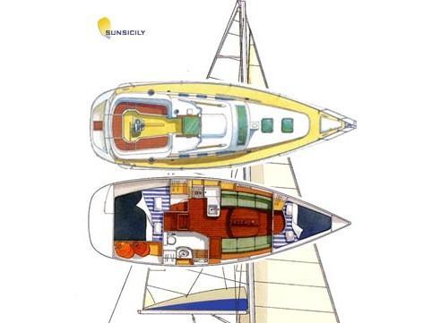Oceanis 323  (Senza Dubbi) Plan image - 2