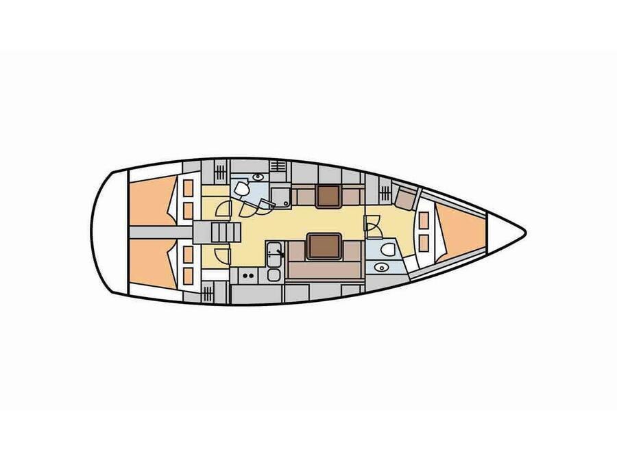 Hanse 400 (Danai) Plan image - 22