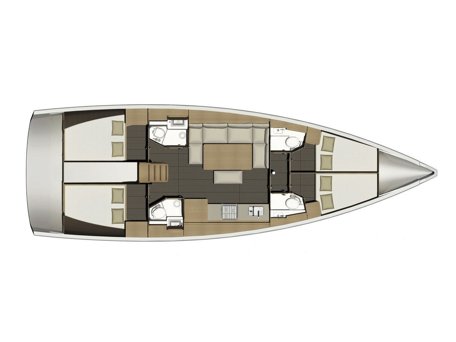 Dufour 460 Grand Large (Rubia) Plan image - 26