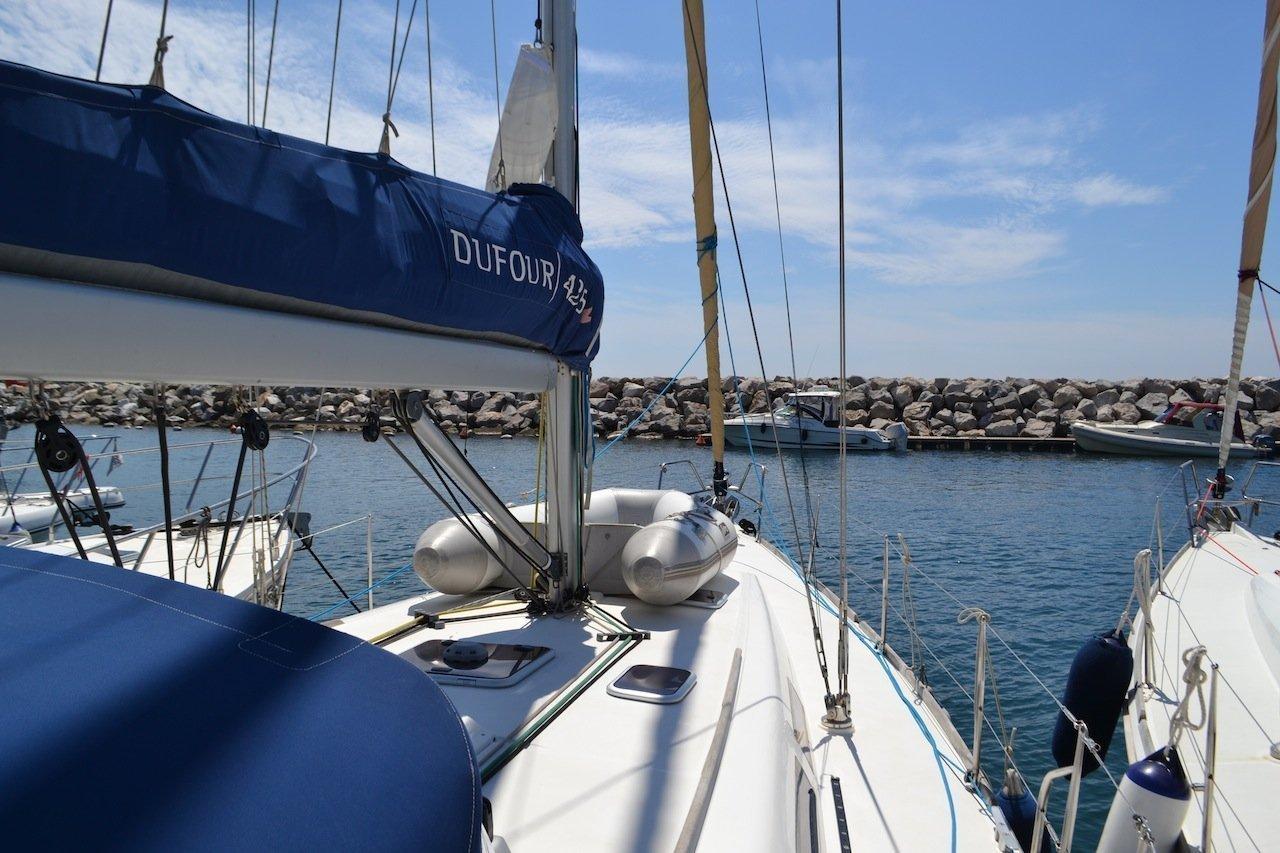 Dufour 425 (Hook) deck - 12