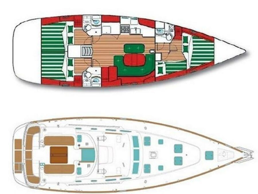 Oceanis 473 (Lullaby) Plan image - 9