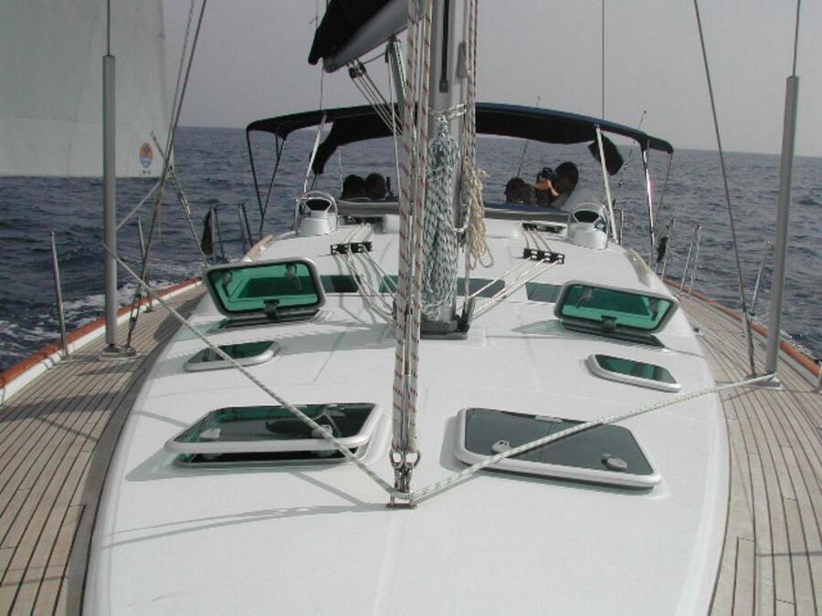 Oceanis 473 (Lullaby) deck - 3