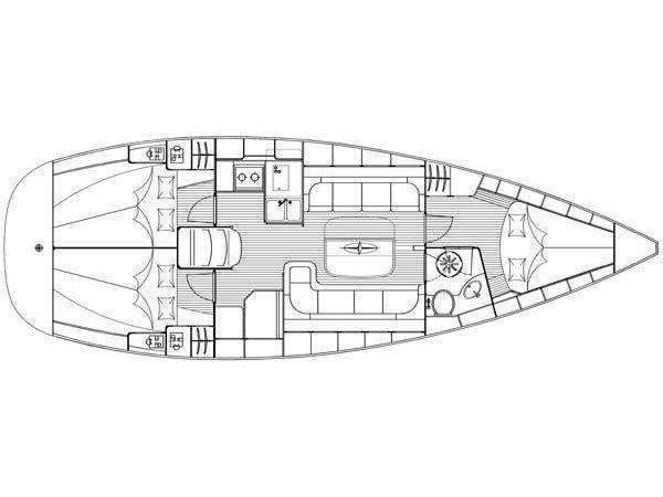 Bavaria 37 Cruiser (Mateja) Plan image - 37