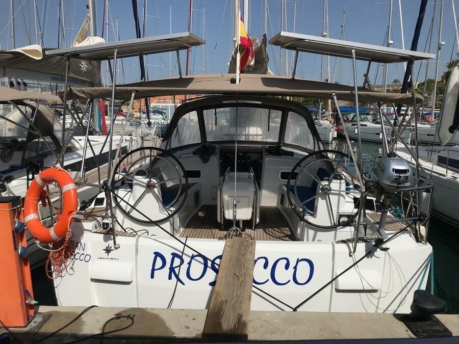 Sun Odyssey 519 (Alboran Prosecco (Majorca)) Main image - 0