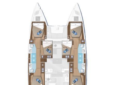 Lagoon 50 (For Sail Again) Plan image - 2