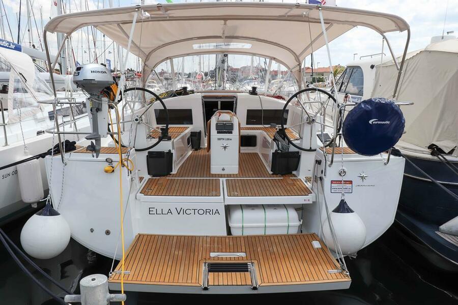 Sun Odyssey 440 - 3 cabin, 2 heads (Ella Victoria)  - 4