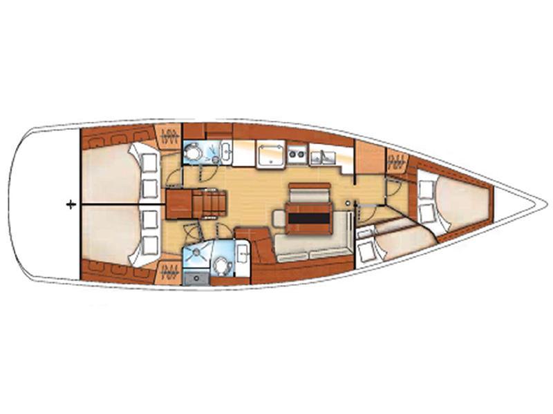 Oceanis 46 (O46-09) Plan image - 1