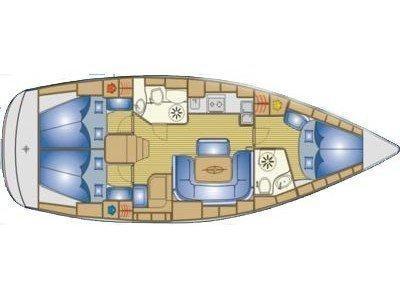 Bavaria 39 Cruiser (CADARGO (2015 sails)) Plan image - 5