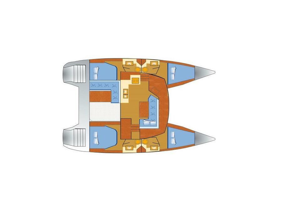 Lucia 40 (Luna Rossa II) Plan image - 2
