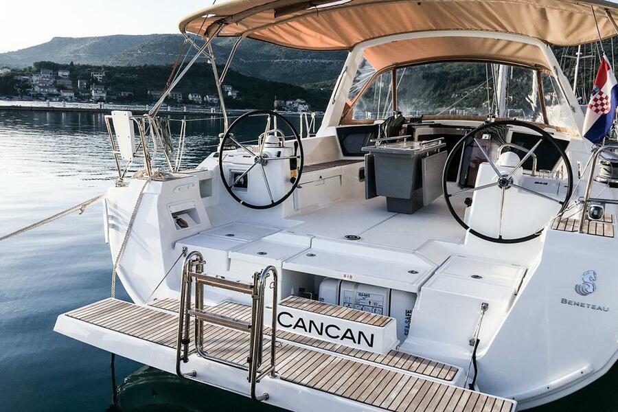 Oceanis 45 (4 cabs) (Cancan)  - 8