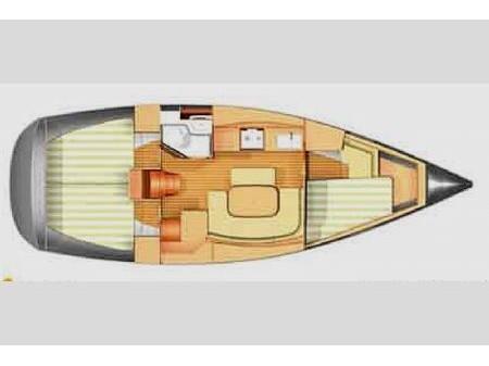 Dufour 365 (Tatomir) Plan image - 2