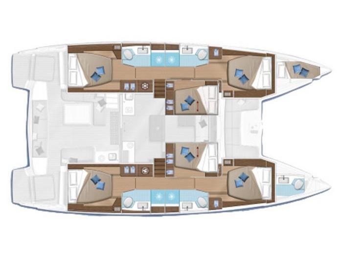Lagoon 50 (BADI) Plan image - 2