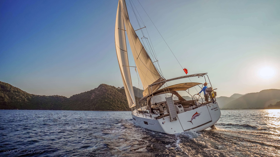Sun Odyssey 490 (Red Marlin)  - 1
