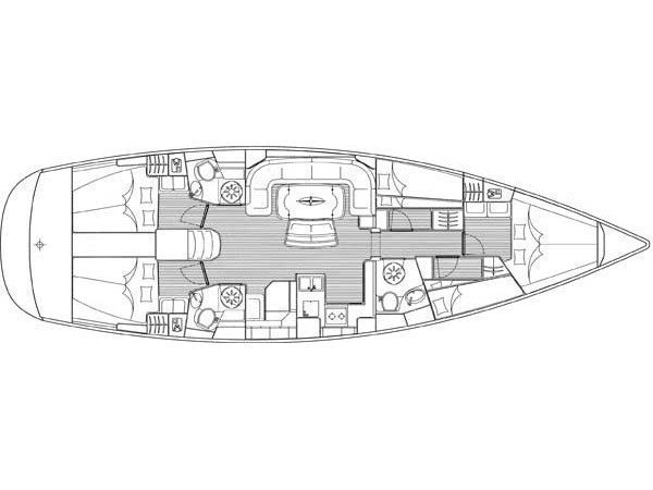 Bavaria 50 Cruiser (Paris) Plan image - 2