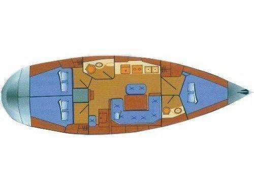 Bavaria 41 (Ira) Plan image - 6