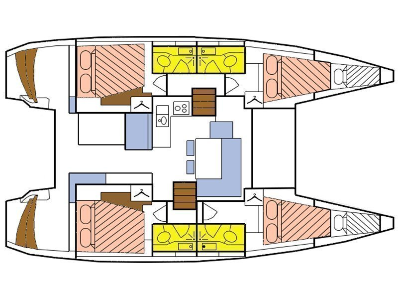 Lagoon 40 (Ubah) Plan image - 9
