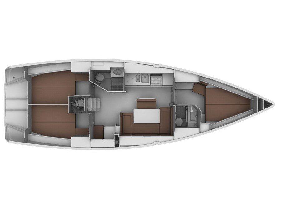 Bavaria Cruiser 40 (Almina) Plan image - 2