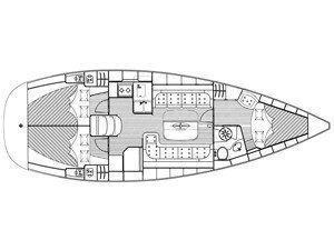Bavaria 37 Cruiser (Alkmini) Plan image - 1