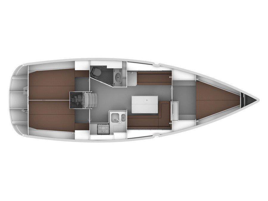 Bavaria Cruiser 36 (Ifigenia) Plan image - 1