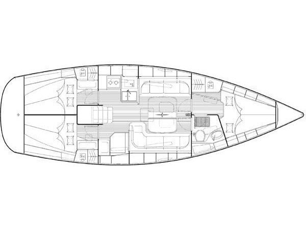 Bavaria 38 Cruiser (Fineas) Plan image - 1