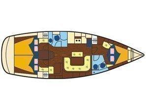 Bavaria 39 Cruiser (Joy) Plan image - 2