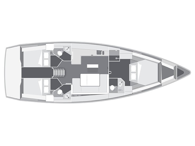 Bavaria 45 Cruiser Owner version (Bunty - Bow & Teak) Interior image - 28