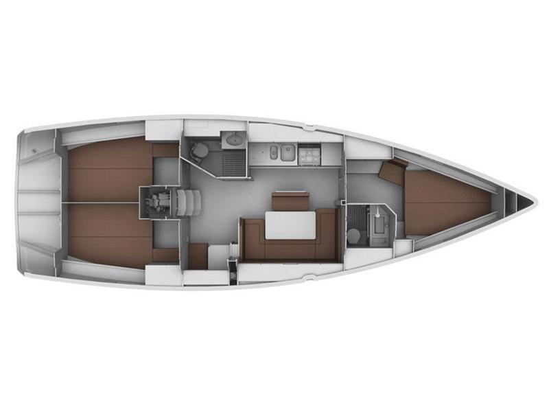 Bavaria 40 Cruiser (Deneb - Bow & Solar) Interior image - 13