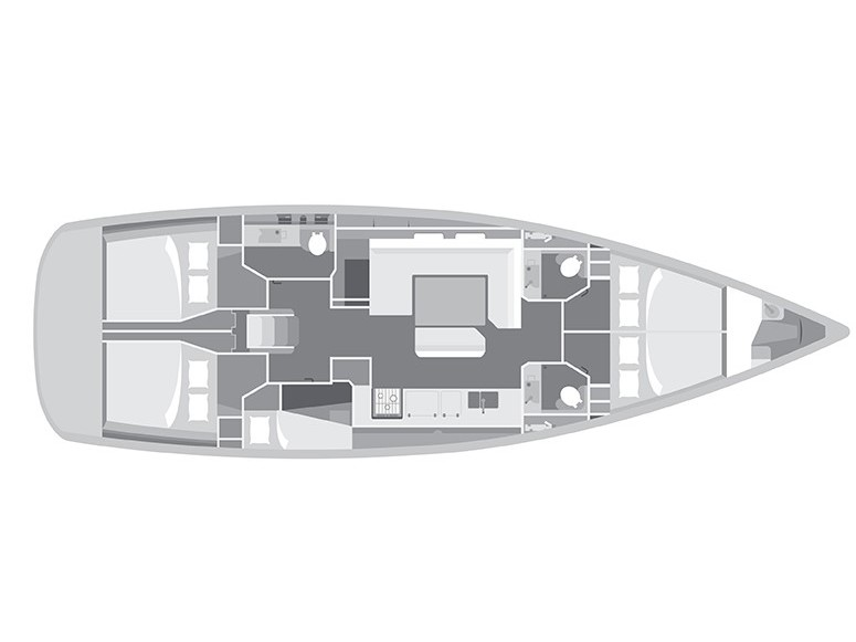 Sun Odyssey 509 (Aposperitis - A/C & Generator) Interior image - 3
