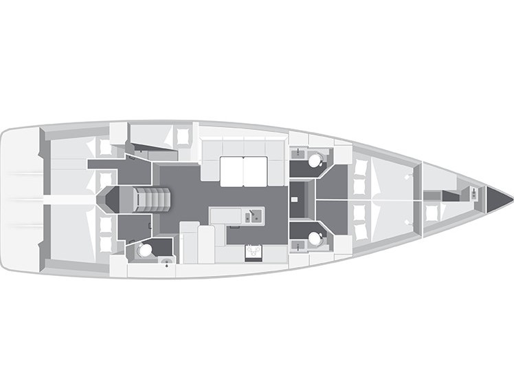 Bavaria Cruiser 56 (Breathless - A/C & Generator) Interior image - 106