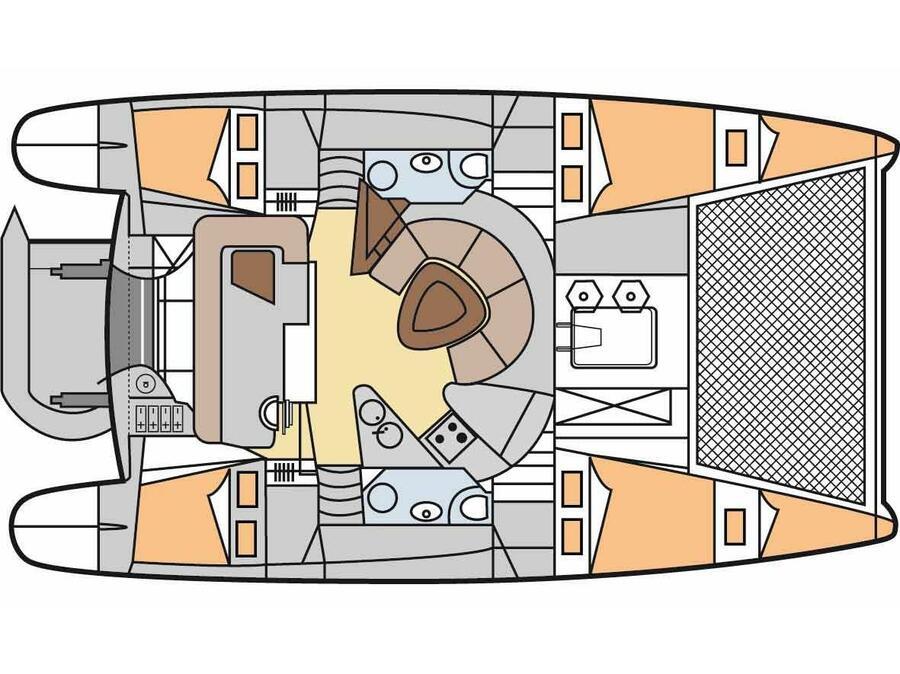 Athena 38 (Piedra Del Sol) Interior image - 11