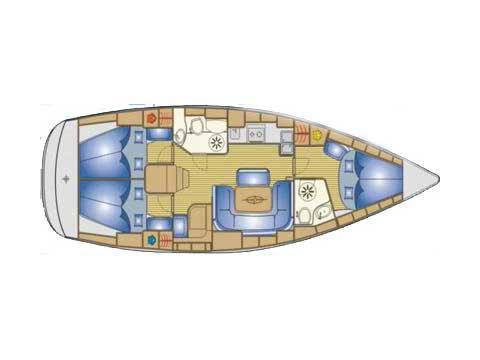Bavaria 39 Cruiser (Fortuna (Sollar Panel)) Interior image - 9