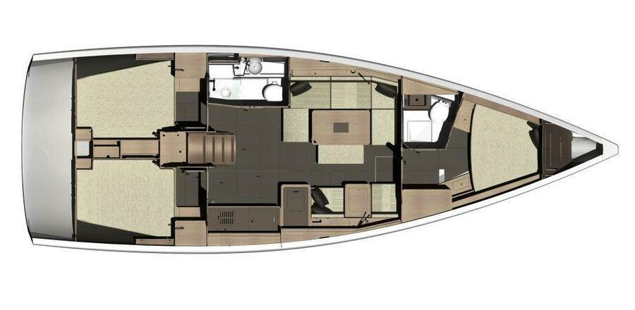 Dufour 410 Grand Large (Mila) Interior image - 18